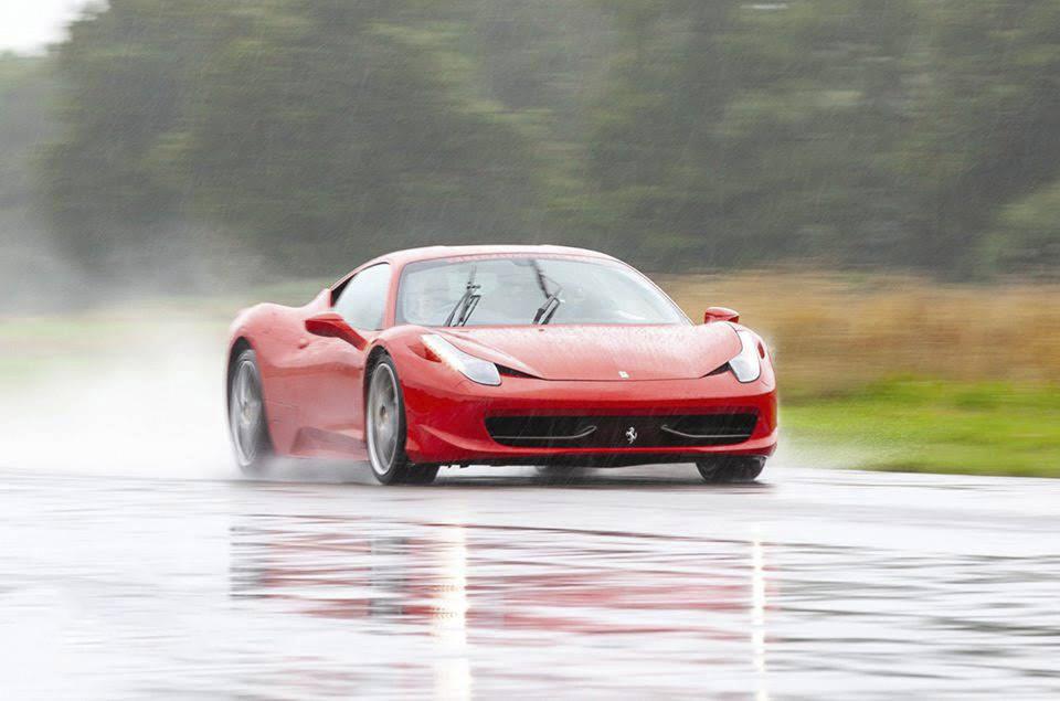 Ferrari 458 Italia Hire Cardiff