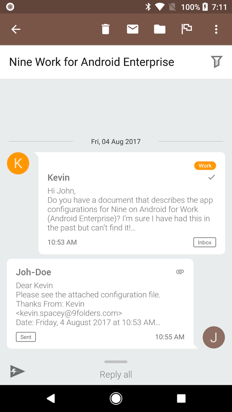 Nine - Email & Calendar Screenshot 6