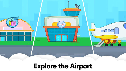 My Airport Town: Kids City Airplane Games for Free 1.4 screenshots 3