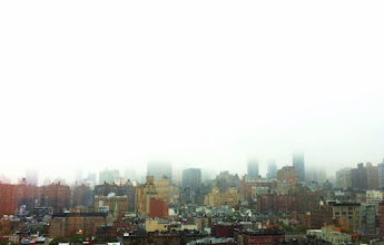 Photo: Low Fog in Manhattan. Foggy day in Manhattan, like it drew a line across the skyline.