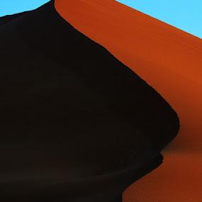 Namibian desert by Bostjan Pulko - Landscapes Deserts