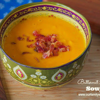 Butternut Apple Soup – Gluten Free and Dairy Free