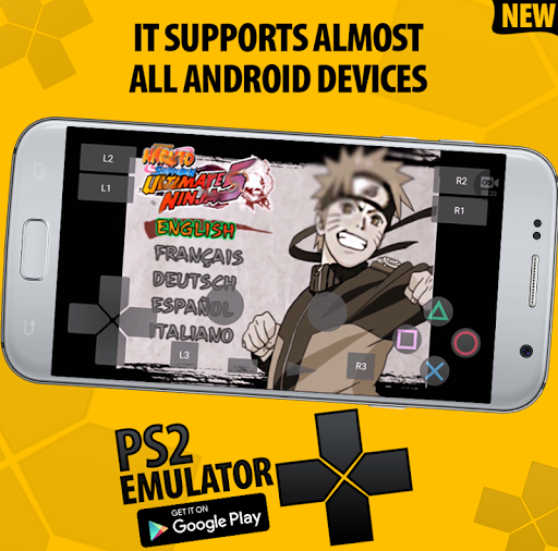 Golden PS2 Emulator For Android (PRO PS2 Emulator) 117 screenshots 6