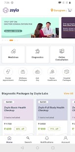 Zoylo – Medicines, Blood Tests, Doctors App Download For Android and iPhone 6