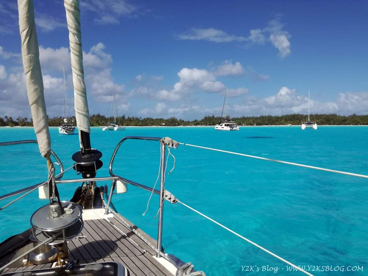 Ancoraggio di SE - Bora Bora
