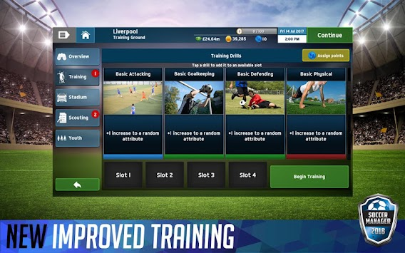 Soccer Manager 2018 (Unreleased) APK screenshot thumbnail 9
