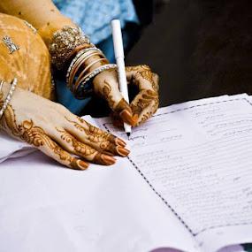by Farrukh Saleem - Wedding Details ( farrukh saleem, wedding, bride, photography, asian )