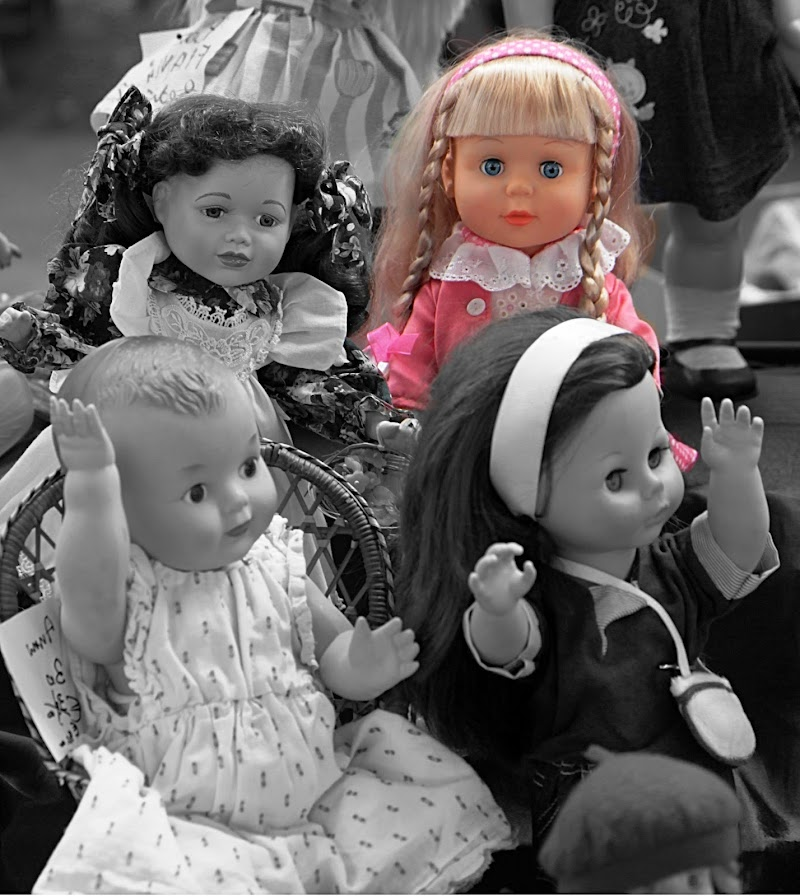 La bambola rosa di FZATOX