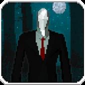 Slender Pixel Man