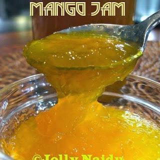 Homemade Yummy Mango Jam.