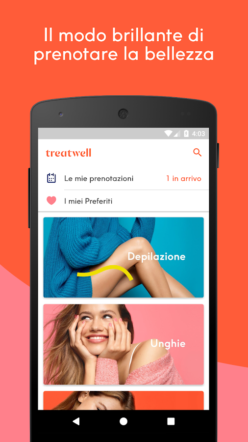Treatwell- screenshot