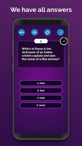 Ultimate KBC 2020 - GK IQ Quiz in Hindi & English  screenshots 3