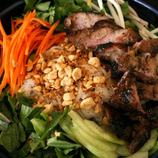 Vietnamese Inspired BBQ Pork Salad Recipe