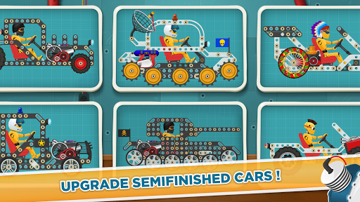 Car Builder and Racing Game for Kids 1.2 screenshots 2