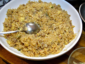 "Photo: ""naem"" sour sausage fried rice (""kao pad naem"")"