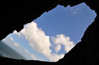 Photo: 第一洞內往外看