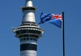 Image result for Sky tower with flag