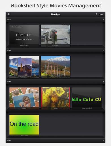 Cute CUT - Video Editor & Movie Maker 1.8.7 screenshots 12