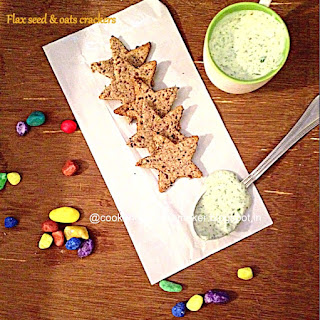 Flax Seeds & Oats Crackers
