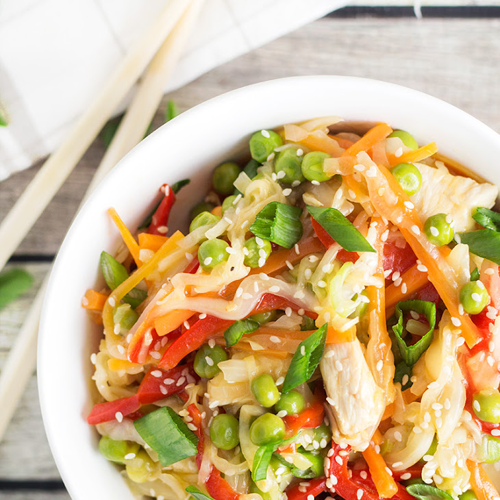 Chicken Cabbage Stir Fry Recipe