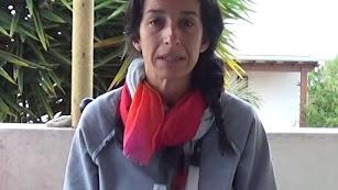 Patricia Ramírez, en una imagen del vídeo.