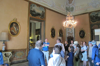 Photo: Tour of the prince's villa- led by the prince himself