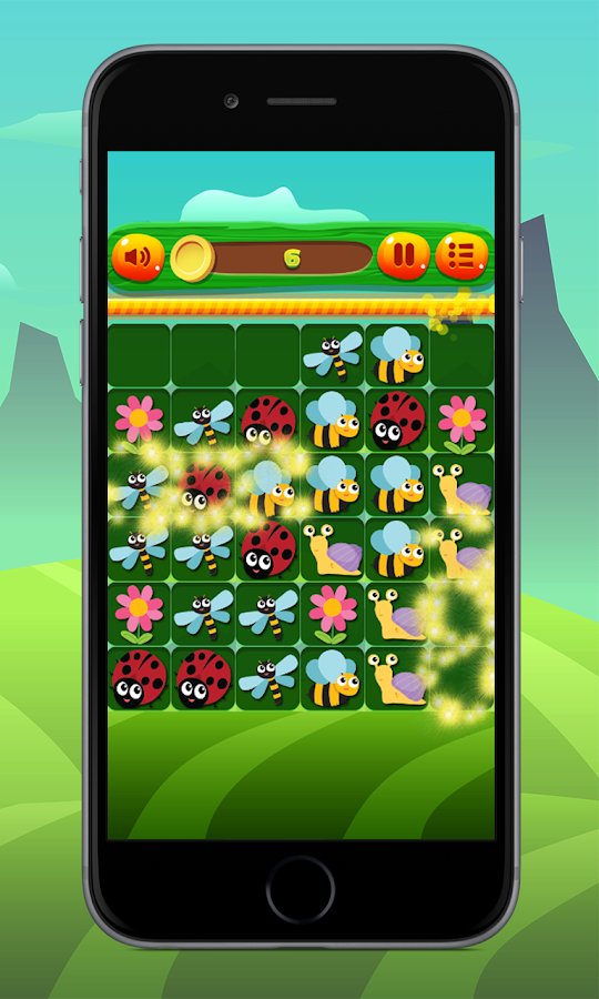 Insect Match Puzzle- screenshot
