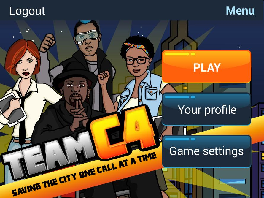 Team C4 - The BPeSA Game- screenshot