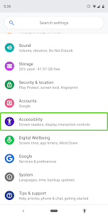 Android Accessibility Suite 1