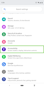 App Android Accessibility Suite APK for Windows Phone