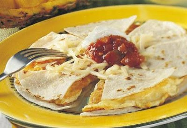 Breakfast Quesadilla Recipe