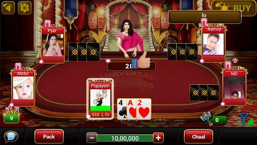 Universal Teen Patti - Indian Poker Game screenshots 4