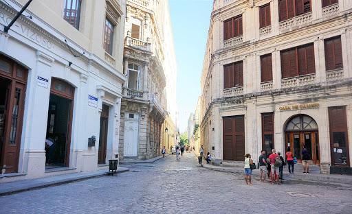 havana-street-corner.jpg -  A street corner in Old Havana seen during a walking tour by American visitors.