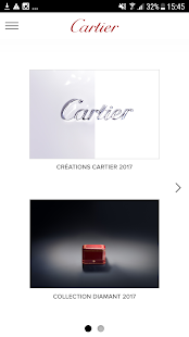 Cartier - Catalogue – Vignette de la capture d'écran