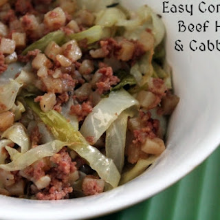 Easy Corned Beef Hash & Cabbage.