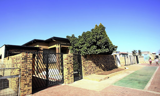 MOGUL'S MANSION A house in Meadowlands, Soweto, that doubles as the base of Mzwanele Manyi's Lodidox media empire Picture: Masi Losi
