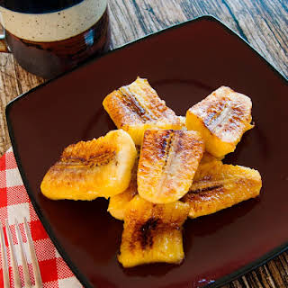 The Amazing Not-deep-fried Sweet Plantains.