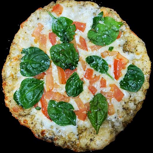 Spinach Margherita Pizza (8 inch)
