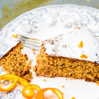 Clementine, Almond, Honey Cake Gluten Free