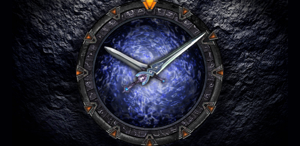 Star Watch Gate Clock skin APK Download andrew somers