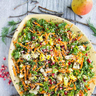Quinoa Autumn Harvest Salad
