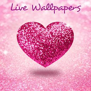 Glitter Love Glowing Flowers Wallpaper Hd Apk 3 0