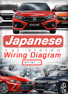 Japanese Car Stereo Wiring Diagrams - náhled