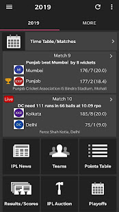 App Live Indian T20 League 2019 Result Time Table APK for Windows Phone