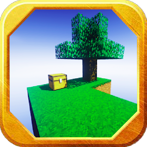 New Skyblock Challenges MCPE Map for PC