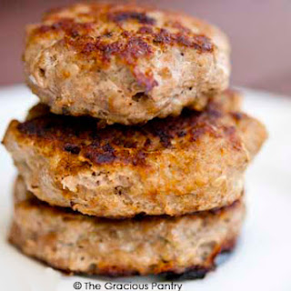 Clean Eating Turkey Breakfast Sausage.