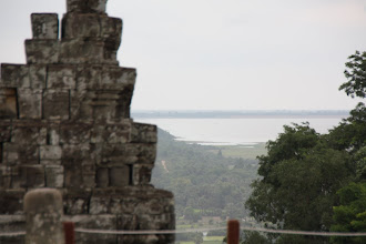Photo: Year 2 Day 44 -  View of Tonle Sap Lake from Top of Phnom Bakheng