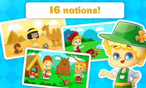 玩免費教育APP|下載Kids Puzzles - Learn Nations app不用錢|硬是要APP