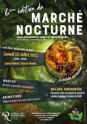 Marché Nocturne Sainte-Hélène CC Région Rambervillers