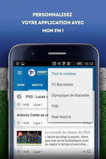 Foot Mercato : transferts, ru00e9sultats, news, live 3.6.10 screenshots 3